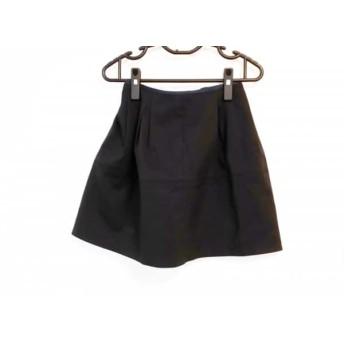 【中古】 アプワイザーリッシェ Apuweiser-riche スカート サイズ2 M レディース 黒