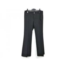 【中古】 ニジュウサンク 23区 パンツ サイズ40 M レディース ダークグレー