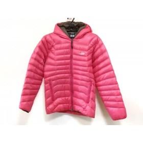 【中古】 ロウアルパイン Lowe Alpine ダウンジャケット サイズMEDIUM M レディース ピンク 冬物