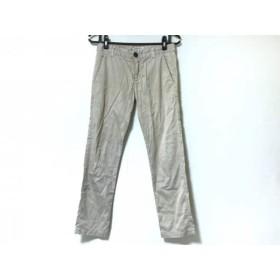 【中古】 カレントエリオット CURRENT ELLIOTT パンツ サイズ23-0 レディース グレージュ