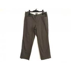 【中古】 ニジュウサンク 23区 パンツ サイズ43 レディース ダークグレー
