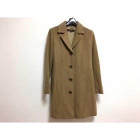 【中古】 リフレクト ReFLEcT コート サイズ9 M レディース ブラウン 冬物