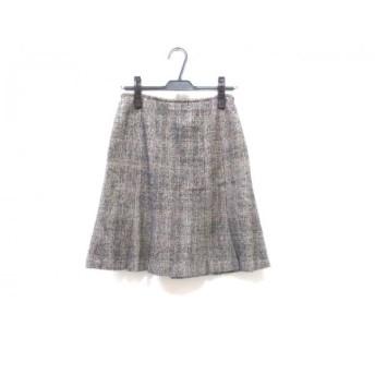 【中古】 クランプリュス KLEIN PLUS スカート サイズ38 M レディース グレイ