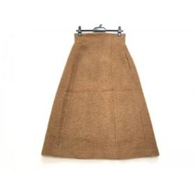 【中古】 エリン ELIN ロングスカート サイズ38 M レディース ライトブラウン