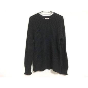 【中古】 イートミー EATME 長袖セーター サイズF レディース 黒
