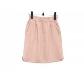 【中古】 ドレステリア DRESSTERIOR スカート レディース 美品 ピンクベージュ