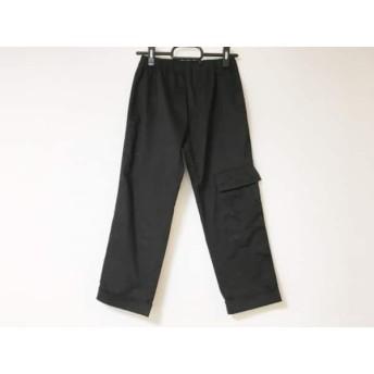 【中古】 ミズイロインド mizuiro ind パンツ サイズ1 S レディース 黒