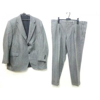 【中古】 ノーブランド シングルスーツ メンズ グレー ※品質表示タグがないため正確ではありません。