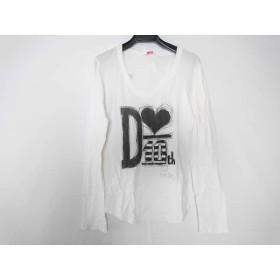 【中古】 ダブルスタンダードクロージング 長袖Tシャツ サイズF レディース 白 黒