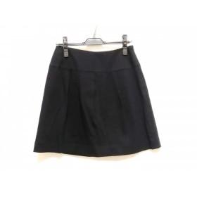 【中古】 プロポーションボディドレッシング PROPORTION BODY DRESSING スカート サイズ3 L レディース 黒