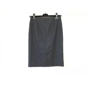 【中古】 ピンキー&ダイアン Pinky & Dianne スカート サイズ36 S レディース 新品同様 ダークグレー