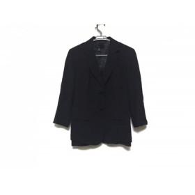 【中古】 ダナキャラン DKNY ジャケット サイズ6 M レディース 黒