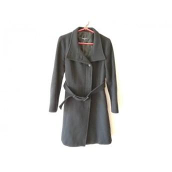 【中古】 クリアインプレッション CLEAR IMPRESSION コート サイズ2 M レディース 黒 冬物