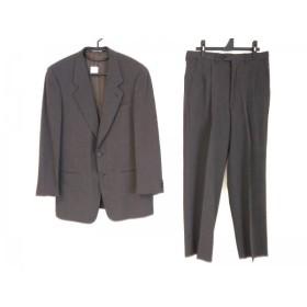 【中古】 ジョルジオアルマーニ GIORGIOARMANI シングルスーツ メンズ グレー