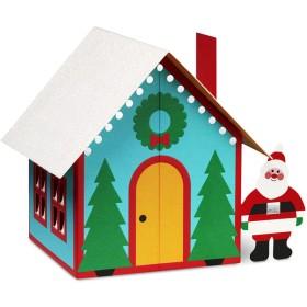MoMA クリスマスカード サンタの家