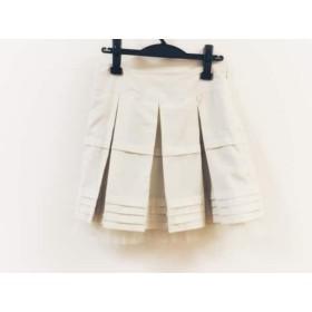【中古】 チェスティ Chesty スカート サイズ1 S レディース ベージュ