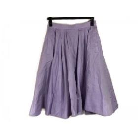 【中古】 ザ ヴァージニア The Virgnia スカート サイズ38 M レディース パープル