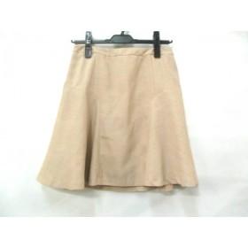 【中古】 ロペピクニック RopePicnic スカート サイズ38 M レディース ベージュ