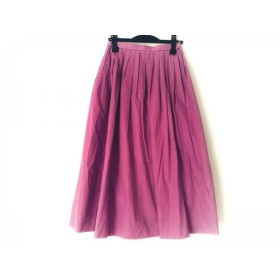 【中古】 ヨリ yori ロングスカート サイズ36 S レディース ピンク