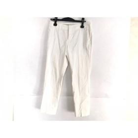 【中古】 アマカ AMACA パンツ サイズ38 M レディース アイボリー