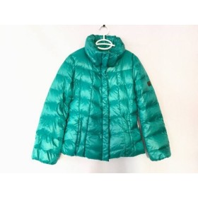 【中古】 マックスマーラウィークエンド ダウンジャケット サイズ38 S レディース 美品 グリーン 冬物