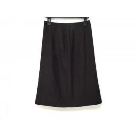 【中古】 オールドイングランド OLD ENGLAND スカート サイズ40 M レディース ダークブラウン