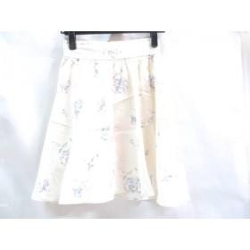 【中古】 マジェスティックレゴン MAJESTICLEGON スカート サイズM レディース ホワイト パープル