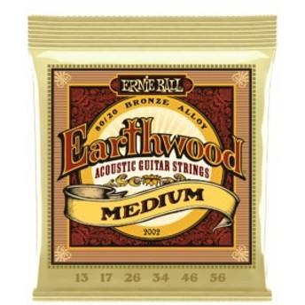 Ernie Ball Earthwood #2002 Medium 013-056 アーニーボール 80/20ブロンズ アコギ弦