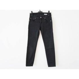 【中古】 ダブルスタンダードクロージング DOUBLE STANDARD CLOTHING パンツ サイズ36 S レディース 黒