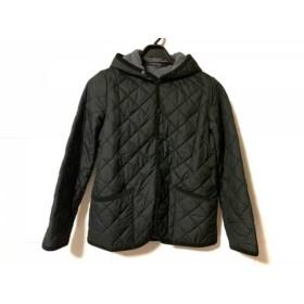 【中古】 スモックショップ ダウンジャケット サイズM レディース 黒 キルティング/フード付き