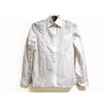 【中古】 トゥモローランド 長袖シャツブラウス サイズ38 M レディース 白 collection/スパンコール