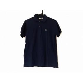 【中古】 ラコステ Lacoste 半袖ポロシャツ サイズ4 XL メンズ ブルー