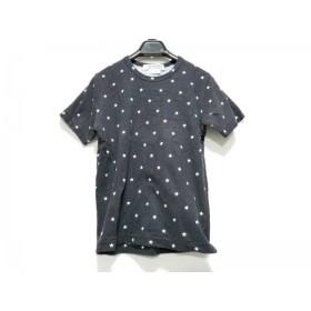 【中古】 コムデギャルソン COMMEdesGARCONS 半袖Tシャツ サイズS レディース 黒 白 スター