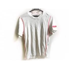 【中古】 アディダスバイステラマッカートニー 半袖Tシャツ サイズM レディース 白 マルチ STELLA SPORT