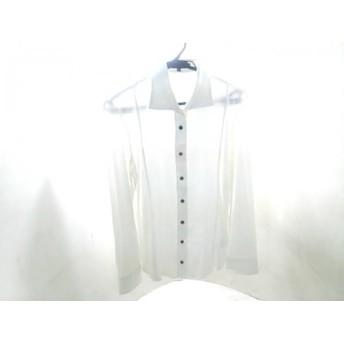 【中古】 ラ・エフ la.f. 長袖シャツ サイズ42 L メンズ ホワイト