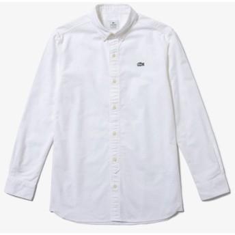 配色エッジングロゴオックスフォードボタンシャツ