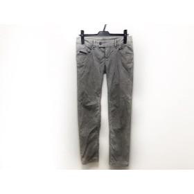 【中古】 ディーゼル DIESEL パンツ サイズ27 M レディース グレー