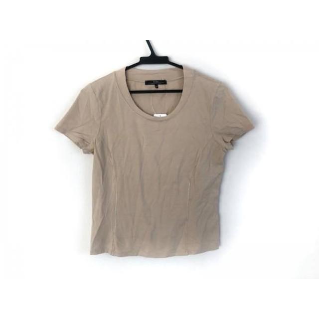 【中古】 マックスマーラウィークエンド Max MaraWEEKEND 半袖Tシャツ サイズM レディース ベージュ