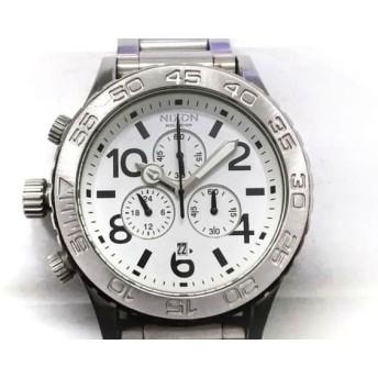 【中古】 ニクソン NIXON 腕時計 MINIMIZE 42-20 メンズ クロノグラフ 白