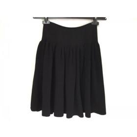 【中古】 フォクシー FOXEY スカート サイズ38 M レディース 黒 BOUTIQUE
