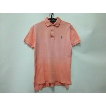 【中古】 ラルフローレン RalphLauren 半袖ポロシャツ サイズS メンズ ピンク