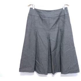 【中古】 ジユウク 自由区/jiyuku スカート サイズ46 XL レディース グレー