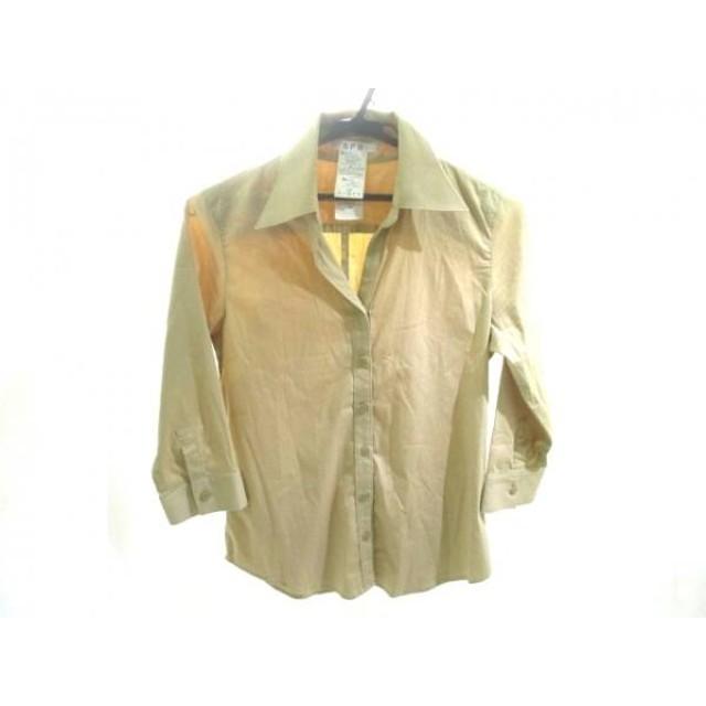 【中古】 エスピービー SPB 七分袖シャツ サイズ2 M レディース ブラウン