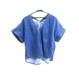 【中古】 バーンヤードストーム BARNYARDSTORM 半袖カットソー サイズF レディース ブルー