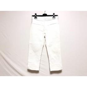 【中古】 コトゥー COTOO パンツ サイズ38 M レディース 白 サテン/デニム