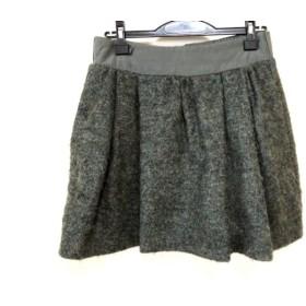 【中古】 シーバイクロエ SEE BY CHLOE ミニスカート サイズ38 M レディース グリーン
