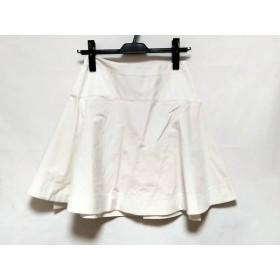【中古】 プロエンザスクーラー Proenza Schouler スカート サイズ0 XS レディース 白