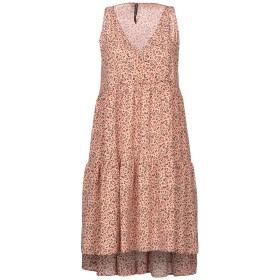 《期間限定 セール開催中》MANILA GRACE レディース ミニワンピース&ドレス あんず色 42 コットン 100%