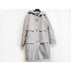 【中古】 アペーナ APPENA コート サイズ38 M レディース ライトグレー 冬物