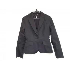 【中古】 イネド INED ジャケット サイズ7 S レディース 黒
